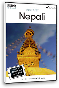 Eurotalk Instant Nepali  - 2 Product Set - USB and Talk Now tablet download