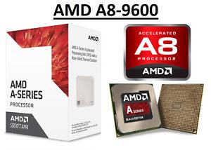 AMD A8-9600 Quad Core ''Bristol Ridge'' Processor 3.1 - 3.4 GHz, FM2, 65W CPU