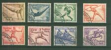 GERMANY -1936 SUMMER OLYMPICS - FULL SET - Fine Used