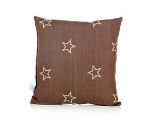 *NEW* Glenna Jean Carson Pillow, Denim Star, Brown, L3-2656 - Free Shipping!
