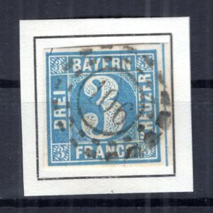 Bavaria Number Stamp oMr106 2 Impeccable Postmarked (B4393