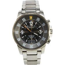 Seiko Criteria Snq077 P1 Silver White Perpetual Calendar Men's Quartz Watch