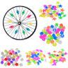Bicycle Bike Wheel Plastic Spoke Bead Children Kids Clip Colored Decoration_DM