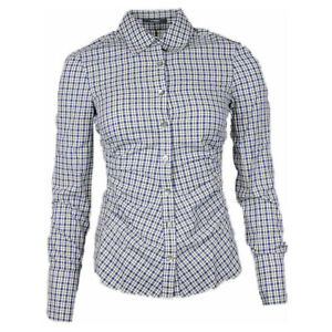 Windsor Blouse Women's Blue/White Checked (Previously