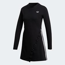adidas Originals Womens Long Sleeve Dress black
