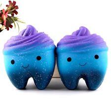 10cm Galaxy dents gâteau parfumés SQUISHIES lente Rising Compressible jouets