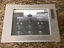 Brushed Aluminum Crestron Tps-4000L Touch Screen Panel Mint