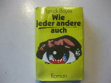 Patrick Boyle, Wie jeder andere auch, Roman Volk und Welt Berlin DDR 1981
