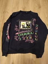 Vintage O'NEILL Rare Print 90s Coloured Men's Sweater Sweatshirt Top XL