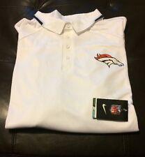 NWT Nike Drifit Denver Broncos Polo Shirt Men's Big&Tall Size 4XL