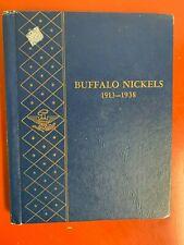 Set Of Buffalo Nickels 1913-1938, 63 Coins, No 3-Leg/1918D Over 17 /1913D Typ II