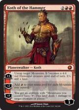 [1x] Koth of the Hammer [x1] Scars of Mirrodin Slight Play, English -BFG- MTG Ma