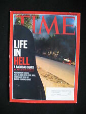 Time Magazin e- Life in Hell -  A Baghdad Story 2006