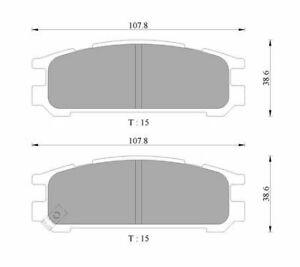 Bosch Rear Brake Pads DB1186BL