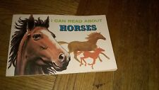 I Can Read About Horses By Richard Harris 1973 Troll Books.