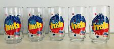 Diet Pepsi Vintage Set 5 Glass Tumblers Uh Huh You Got the Right One Baby