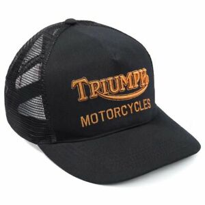TRIUMPH MOTORCYCLES OIL TRUCKER CAP - BLACK / GOLD