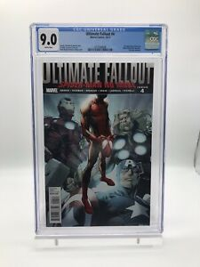 Ultimate Fallout #4 Miles Morales First (1st) Print CGC 9.0