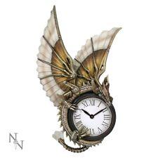 Anne Stokes Steampunk Clockwork Dragon Wall Clock 25cm Nemesis Now