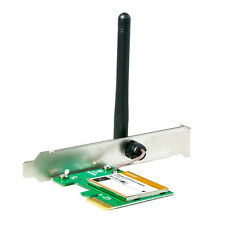 TENDA Wireless N PCI Adaptor WiFi Card 150Mbps PC 802.11 b g n