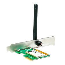 Tenda Wireless N Pci Adaptador Tarjeta Wifi 150mbps Pc 802.11 B G N