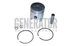Piston Kit w Ring & Clip Part For Portable Gasoline ETQ 950 IN1000i Generators