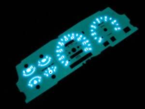 MPH 93 94 MAZDA B2300 B3000 B4000 RANGER EXPLORER WHITE FACE GLOW GAUGES