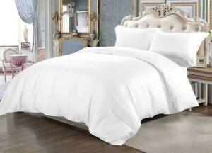 100% Egyptian Cotton Duvet Set 500 Thread Single & Super King Size UK Seller