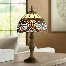 "Robert Louis Tiffany 13 1/2"" High Marie Art Glass Table Lamp"