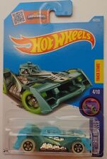 2016 Hot Wheels X-GLOW WHEELS 4/10 Voltage Spike 49/250 (Green/Blue)(Int. Card)