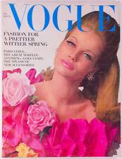 Veruschka JULIE ANDREWS Anouk Aimee Irving Penn US VOGUE magazine 15 March 1965