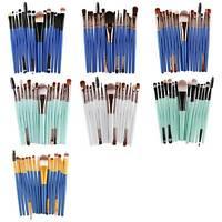 15 Pcs / Set Eyeshadow Foundation Eyebrow Lip Brush Makeup Set Of Brushes H9I3