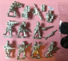 Imperial Guard Steel Legion Squad of 10 Guardsmen Astra Militarium // METAL