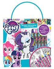 My Little Pony 3 Bumper Carry Along Colouring Set Travel Activity Kids