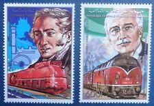 Comores, n°490 et 491, locomotives et constructeurs, 1988, N**