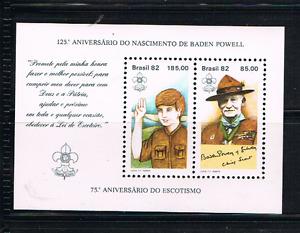Brasilien 1982 Block 51 Pfadfinder/Jamboree Postfrisch