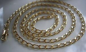 9CT GOLD GF CURB CHAIN CHEAPEST ON EBAY FROM 9CT GOLD BLING {4}