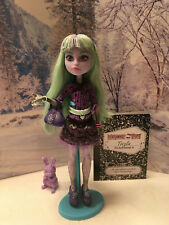 2013 Monster High 13 WISHES TWYLA Doll pet DUSTIN Y7708 Diary Complete NOB