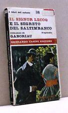 IL SIGNOR LECOQ E IL SEGRETO DEL SALTIMBANCO - Gaboriau [Libro, G. Casini edit.]