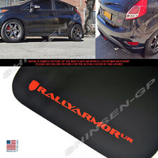 "Rally Armor UR ""Black Mud Flaps w/ Red Logo"" 4pcs for 2013-2016 Ford Fiesta ST"