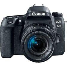 Canon EOS 77D DSLR Camera mit 18-55mm Lens Neu