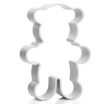 Teddy Bear Shaped Metal Cookie Cutter Sugarcraft Biscuit Pastry Cake Bake Mould
