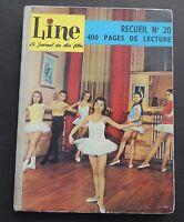 LINE recueil n°20. Album des n°272 à 284 - 1960. TBE