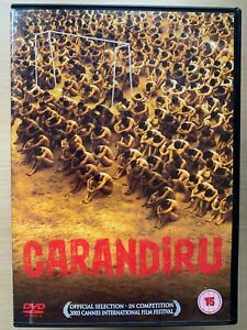 Carandiru DVD 2003 Brazilian Portuguese Prison Crime Drama World Cinema