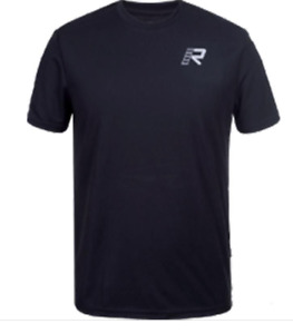Rukka Casual Sponsor Black Motorbike Motorcycle T-Shirt