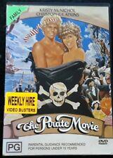 The Pirate Movie - Kristy McNichol,Christopher Atkins   (DVD, 1982) Region 4