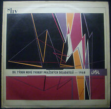 LP (XII) . Tyden NEW Tvorby Prazskych skladatelu - 1968, Supraphon