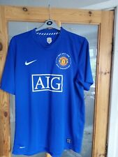 Mens Man United 40th anniversary Shirt 2008 Size XL measures 46/48