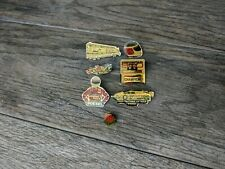 Vintage Racing Pins Indy & NASCAR Mixed Lot of 6