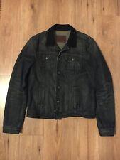 ALL SAINTS Men's 'Duane' Denim Jacket - Dark Blue Medium M - Great Condition!